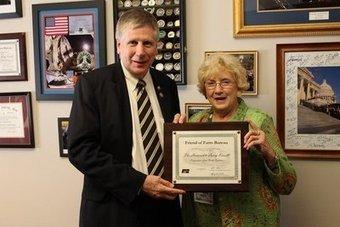 Richmond County Daily Journal - Richmond County farmer presents Friend of Farm Bureau Award to Kissell | North Carolina Agriculture | Scoop.it
