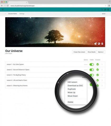 Cloudschool - Pour créer et proposer des cours en ligne | Les nouvelles formes de la formation | Scoop.it