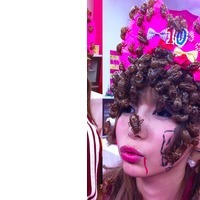 And now, a Japanese pop idol cosplaying as a swarm of cicadas | Cosplay News | Scoop.it