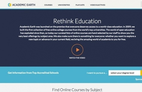 Seven awesome sites for free online education | gifted and talented | Scoop.it
