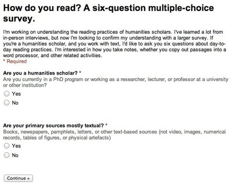How do you read? An analysis of survey responses. | Humanities | CALL - Disciplinary Literacy & Vocabulary | Scoop.it