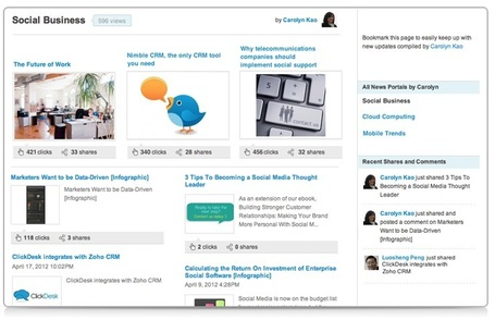 Business Content Curation for Professionals: GageIn Launches News Portals | #MarketingDigital | Scoop.it