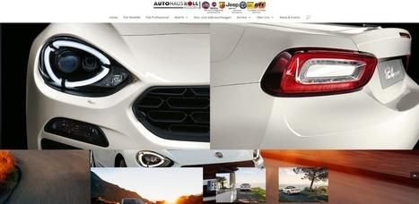 Autohaus Roll Fiat Spider 124 | Mennetic Design | Scoop.it