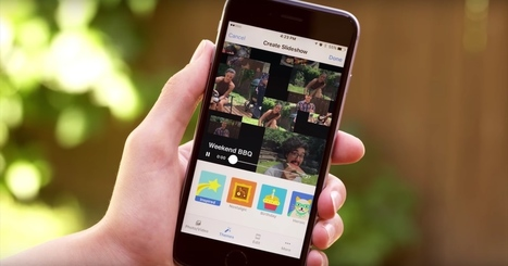 Facebook's Slideshow Feature Turns Photos and Videos Into Themed Clips | iPhoneography-Today | Scoop.it