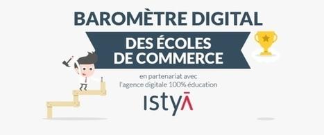 Baromètre digital des écoles de commerce : Essec, HEC et Audencia en tête | D&IM (Document & Information Manager) - Gouvernance numérique | Scoop.it