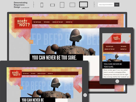 Responsive Webdesign – Ein Überblick « GOLSER.info BLOG | responsive design | Scoop.it