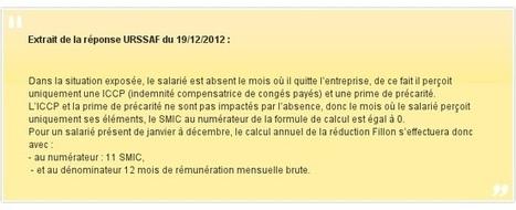 Quelques calculs particuliers du SMIC de référence servant au calcul de la réduction Fillon 2015 | Vigie des entreprises | Scoop.it