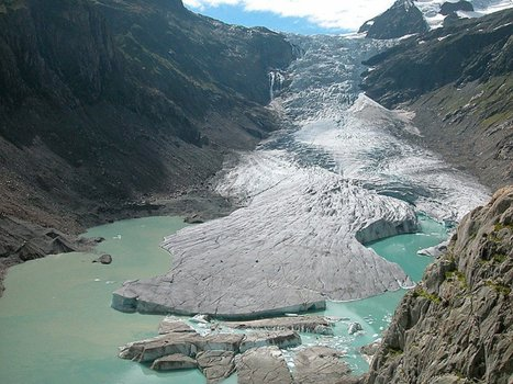 Melting Glaciers Transform Alpine Landscape | Geography Bits | Scoop.it