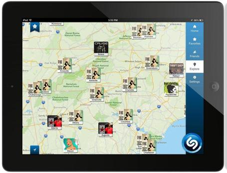 Shazam Launches New App For iPad | MUSIC:ENTER | Scoop.it
