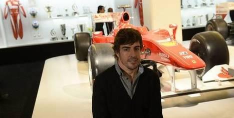 Ferrari Une expo Alonso à Madrid - L'Equipe.fr | F1 au top | Scoop.it