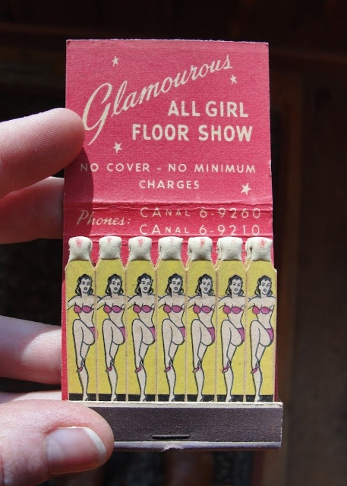A Collection of Vintage Matchbooks | Antiques & Vintage Collectibles | Scoop.it