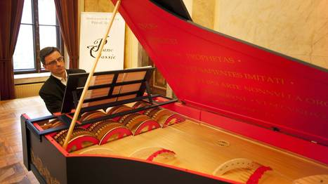 Da Vinci's String Organ Must Be Heard To Be Believed | Found Sounds | Scoop.it