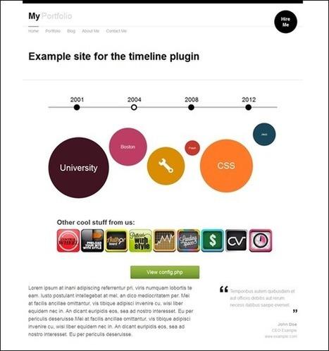 15+ Memorable jQuery Timeline Plugins | Big Data Analytics & Technologies | Scoop.it