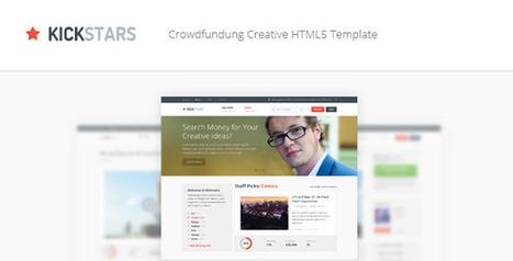 Kickstars - Crowdfunding HTML5 Template | Crowdfunding World | Scoop.it
