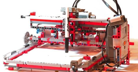 Six gadgets made from LEGO bricks | Heron | Scoop.it