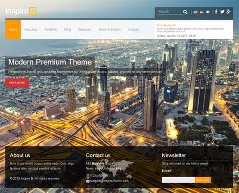 Inspiro B, Drupal 7 Premium Responsive Theme   Premium Download   Bus Routes   Scoop.it