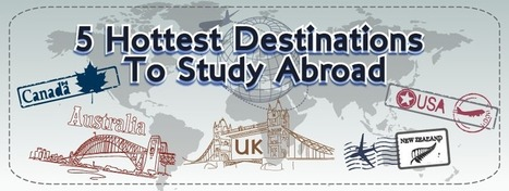 Top 5 Hottest Destinations to Study Abroad   Espire Education   International Studies   Scoop.it
