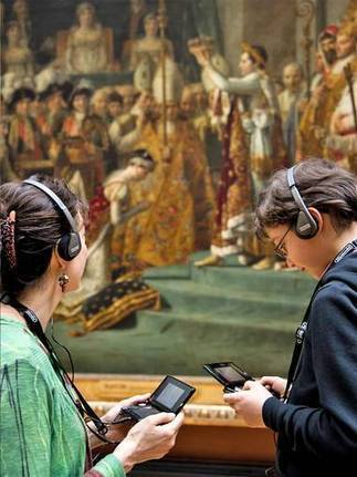 "Mona Lisa meets Mario: Is the Nintendo 3DS set to be the Louvre's latest big-name attraction? | L'impresa ""mobile"" 