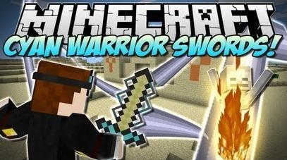 Cyan Warrior Swords Mod 1.6.4 | Minecraft 1.6.4 Mods | Scoop.it
