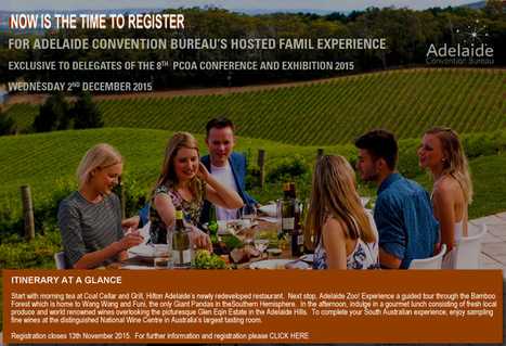 Adelaide Convention Bureau Famil Experience | Adelaide convention | Scoop.it