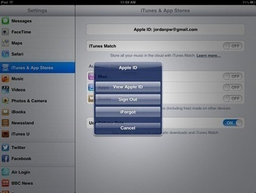 iPad Tips: How to Change Your iTunes Store Location | Go Go Learning | Scoop.it