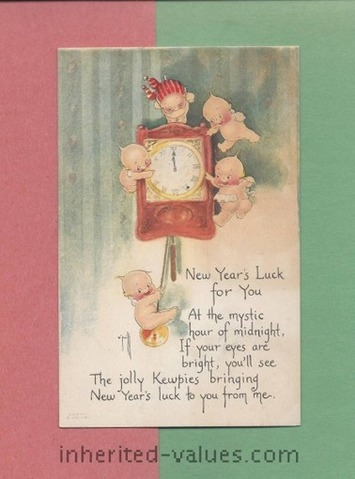 Happy New Year's From Rose O'Neill & The Kewpies | Antiques & Vintage Collectibles | Scoop.it