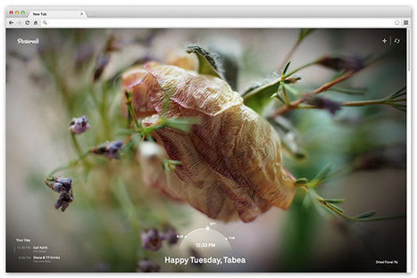 Pinterest Chrome extension brings inspiration to freshly-opened tabs - Engadget | Pinterest for Blogging | Scoop.it