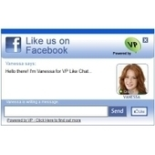 Tool Uses Chat Window To Solicit Facebook Likes On Websites | Everything Facebook | Scoop.it