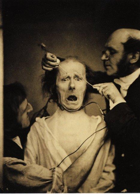 Les expressions électriques du visage par Duchenne de Boulogne   La boite verte   Vintage, Robots, Photos, Pub, Années 50   Scoop.it