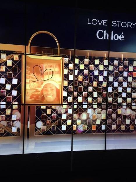 Chloé Parfums recréé un Pont des Arts digital à Londres   streetmarketing   Scoop.it