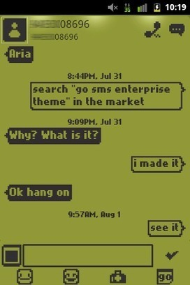 1998 Go SMS Theme v1.51 apk | Mangekyou | Scoop.it