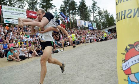 From wife-toting to swamp soccer, Finns play to win | Finland | Scoop.it