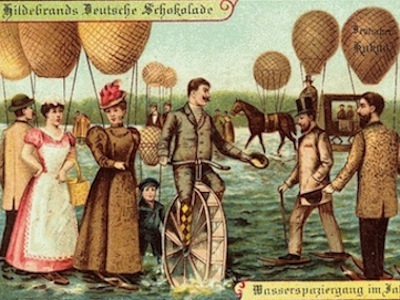 POSTCARDS TO THE FUTURE: How People In 1900 Pictured The Year 2000 | It's All Social | Scoop.it