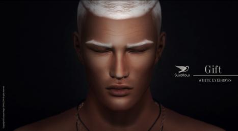 White Eyebrows | 亗 Second Life Freebies Addiction & More 亗 | Scoop.it