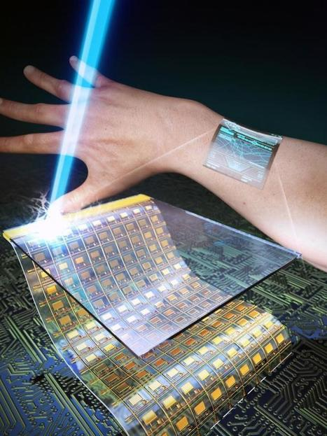 Ultrathin, transparent oxide thin-film transistors for wearable display | Communication design | Scoop.it