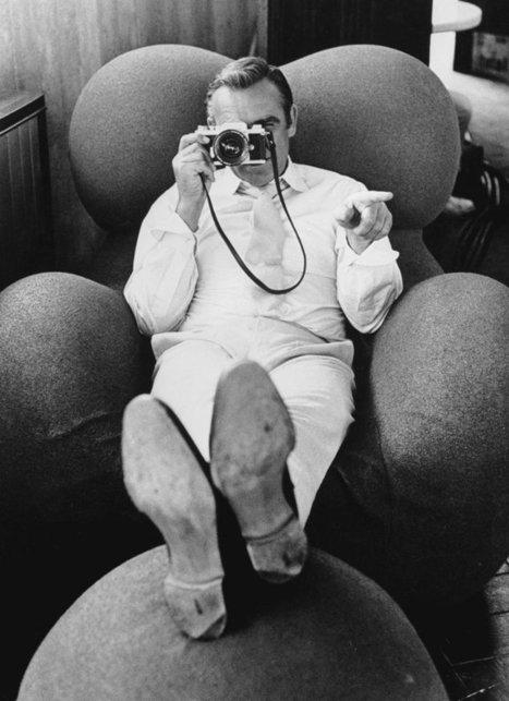 Des gens célèbres avec des appareils photos | Collection de boite en fer | Scoop.it