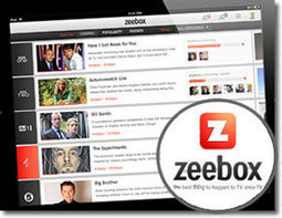 Zeebox Social TV Discovery App Prepares For US Launch | social tv and the second screen | Scoop.it