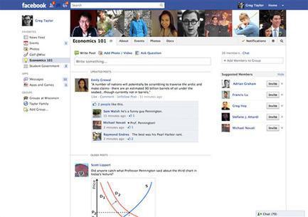 Facebook introduit les groupes pour les écoles | Mon cyber-fourre-tout | Scoop.it