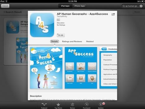 AP Human Geography: App4Success | Southmoore AP... | AP Human Geography | Scoop.it