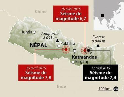La carte du nouveau séisme au Népal | Chronique d'un pays où il ne se passe rien... ou presque ! | Scoop.it