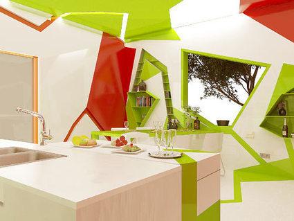 Cubism in the Kitchen by Gemelli Design Studio - Design Milk | BKDA  Continuing Professional Development Archive | Scoop.it
