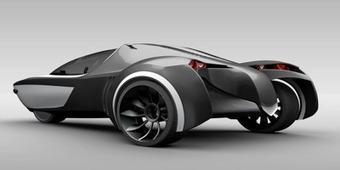 Ho-Ax2, Le premier VE bionique sans batterie, amphibie et biocomposé   Efficycle   Scoop.it