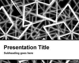 Steel Rods PowerPoint Template | Free  PowerPoint Templates | Scoop.it