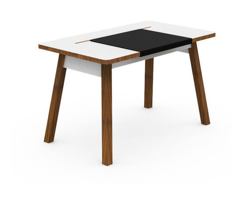 Bluelounge - StudioDesk: A traditional workspace with a modern twist | Desks (i wish) | Scoop.it
