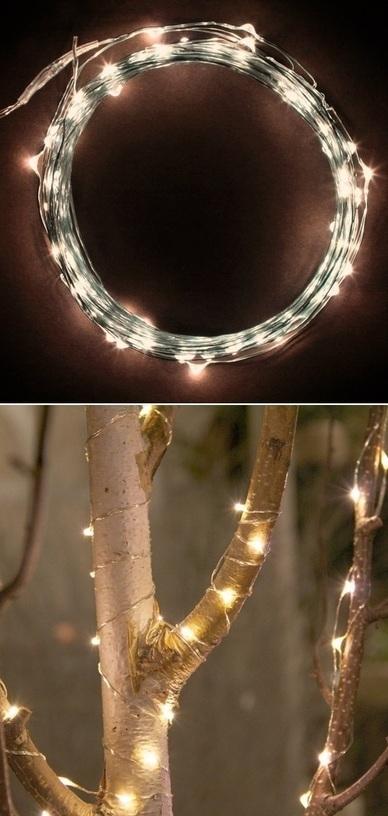 LED string lights warm white | Backyard Gardening | Scoop.it