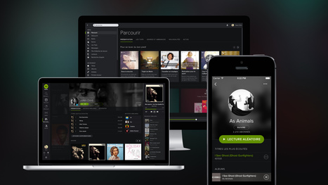 Spotify : enfin une bibliothèque, et une refonte majeure au passage | Culture & Entertainment - Digital Marketing | Scoop.it