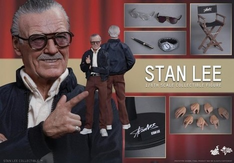 Hot Toys' Stan Lee figure could easily pass for the Man himself | Comic Book Trends | Scoop.it