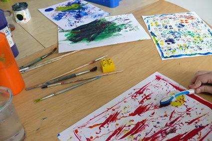 Activité peinture avec les enfants #1   Idées de DIY   Scoop.it
