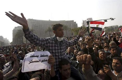 Tahrir protesters block govt office, calling for civil disobedience | Égypt-actus | Scoop.it