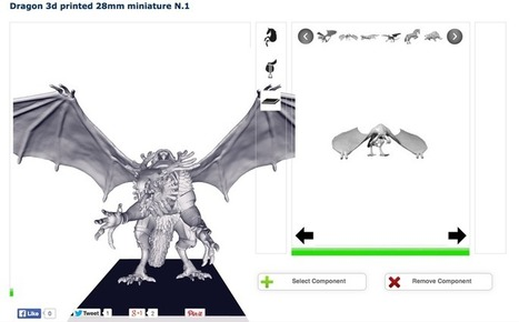 3D Printed, Customizable Miniatures | Digital Design and Manufacturing | Scoop.it
